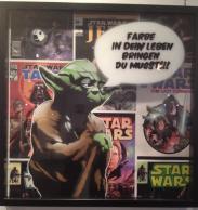 Meister Yodas mahnende Worte - Farbe in Dein Leben bringen Du musst (Foto: mg)