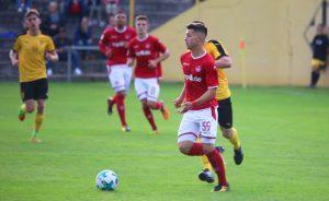 Machte von Anfang auch mächtig Dampf, David Tomic (Foto: 1.FC Kaiserslautern)
