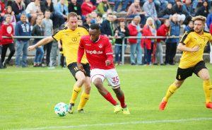 Ebenfalls unter den torschützen, Osayamen Osawe (Foto: 1.FC Kaiserslautern)