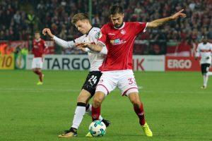Ackerte gestern über 90 Minuten, Lukas Spalvis (Foto: www.der-betze-brennt.de)
