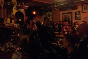 Gut gefüllt, das Bürgermeister Lindemann am späten Abend (Foto: mg)