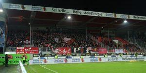 Rund 1.000 Fans des FCK gestern auf der Alb (Foto: www.der-betze-brennt.de)