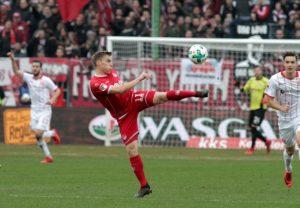 FCK gegen Fortuna Düsseldorf Zurück im FCK-Dress: Rückkehrer Ruben Jenssen tut der Mannschaft gut (Foto: Thomas Füssler)