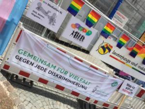 Dekorierte Vielfalt (Foto: Queer Devils)
