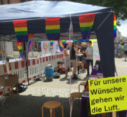 Es war alles angerichtet... (Foto: Queer Devils)