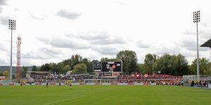 Rund 1.200 Fans waren mit nach Jena gereist (Foto: www.der-betze-brennt.de)