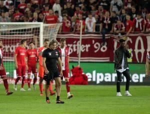 Trotz tollem Spiel, das Remis fühlt sich wie eine Niederlage an (Foto: Thomas Füssler)