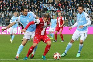 Gerackert, aber auch gestern zu wenig effektiv, Hendrik Zuck (Foto: www.der-betze-brennt.de)