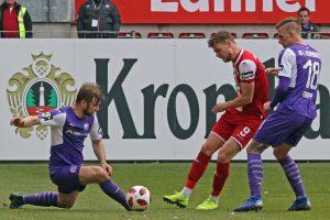 Blieb erneut ohne Treffer, Timmy Thiele (Foto: www.der-betze-brennt.de)