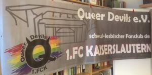 Das neue Banner (Foto: Queer Devils)