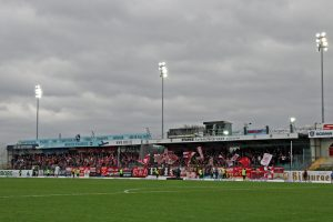 Rund 1500 FCK-Fans waren dem FCK gefolgt (Foto: www.der-betze-brennt.de)