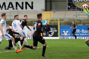 Machte per Kopf das 1:0, Timmy Thiele (Foto: www.der-betze-brennt.de)