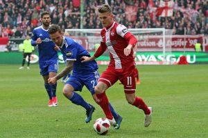 Lieferte gestern eine Vorlage und ein Tor, Florian Pick (Foto: www.der-betze-brennt.de)